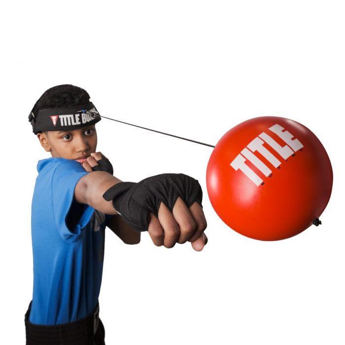 Тренажер для бокса TITLE Boxing Reflex Ball