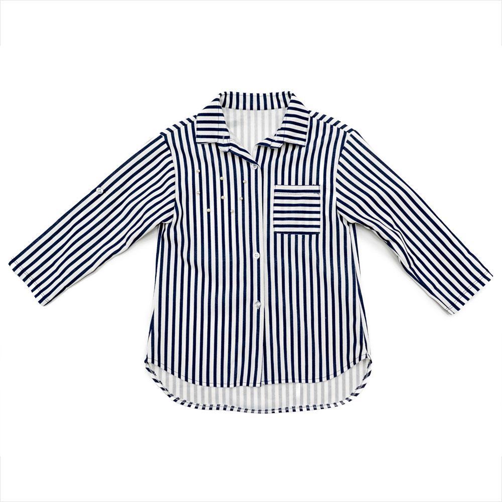Рубашка для девочек Oute 122  белая 2831