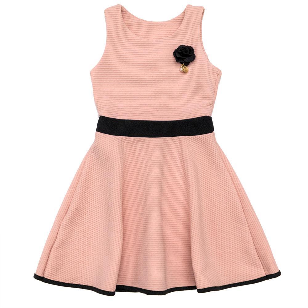 Платье для девочек JLY 116  розовое J007