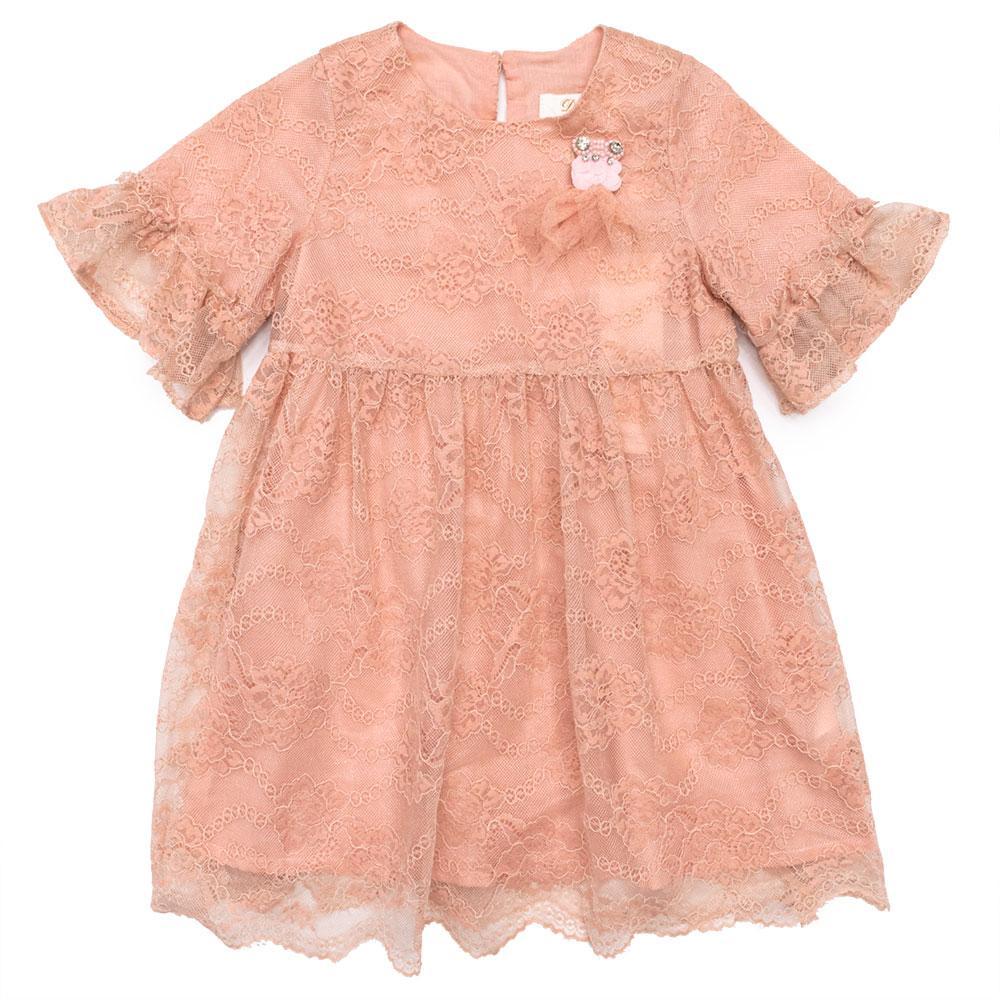 Платье для девочек Deloras 116  розовое 18128
