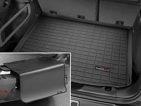 Ковры резиновые WeatherTech Range Rover  2013+ в багажник черный с накидкой