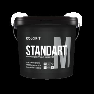 Kolorit Standart М, база А 9л (матова акрилова фарба д/внутр. та зовн.робіт)