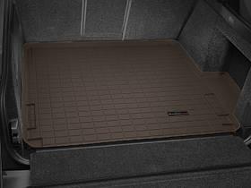 Ковры резиновые WeatherTech Range Rover  2013+ в багажник какао
