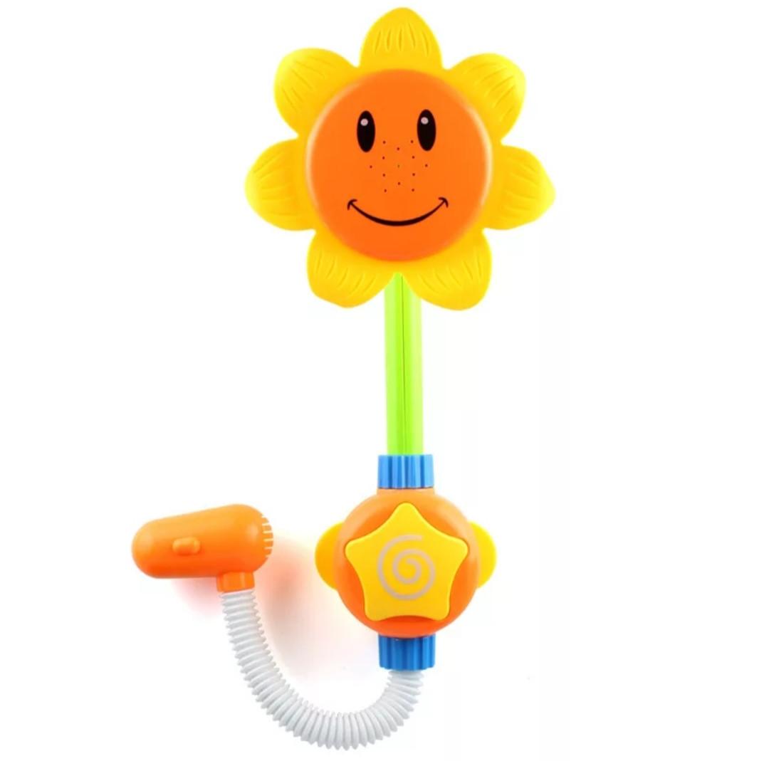 """Дитяча розважальна іграшка для купання,водоспад """"Соняшник з насосом"""" (951)"""