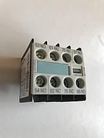Допконтакт Siemens 3RH1911-1FB22 11A 2NO 2NC Додаткові контакти дополнительные контакты