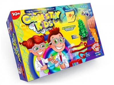 Большой набор для опытов Chemistry Kids Dankotoys