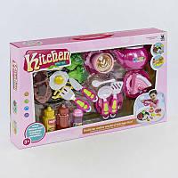 Игровой набор посуды Kitchen с пластиковыми продуктами SKL11-185124