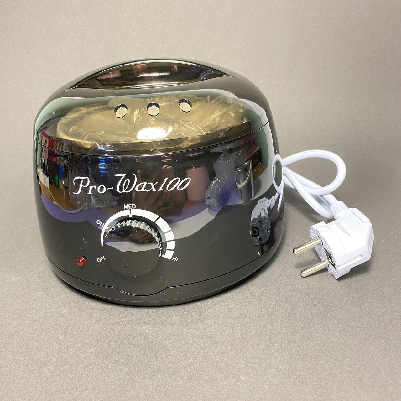 Воскоплав баночний Pro-Wax 100 чорний