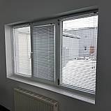 Жалюзи горизонтальные Platogor, 25 мм, классические, алюминиевые, белые, с фиксацией на металл тросе, фото 8