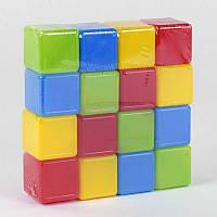 Кубики M-Toys Цветные 16 шт. SKL11-180520