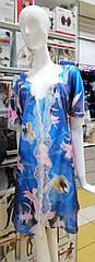Комплект жіночий сорочка+халат. ТМ Komilfo S. M.  L