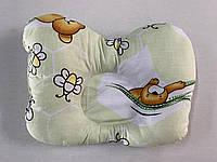 Подушка для новорожденных Бабочка ортопедическая 25*32 А++