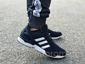 Мужские кроссовки Adidas Flux синие реплика, фото 3