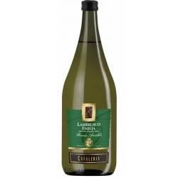 Вино ігристе біле Ламбруско Cavaleria Lambrusco Emilia Bianco Amabile 1.5 L, фото 2