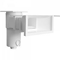 BWT Дзеркальний скіммер, модель SL119MR (з широкою горловиною та подовжувачем) для лайнера і плитки