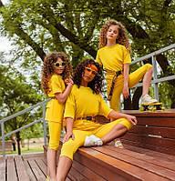 Детский спортивный костюм летний для девочки 869 | на рост 110-164р.