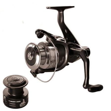 Катушка рыболовная для удочки, спиннинга безынерционная Cobra New 3000 3В