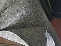 Карпет для Авто темно-серый 1,4 м Ковролин Автоковролин Ткань для Обшивки Салона Потолка Автомобиля