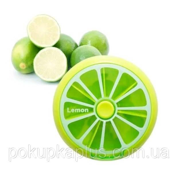 Таблетница Mentol Global fasion на 7 ячеек салат Код 015792