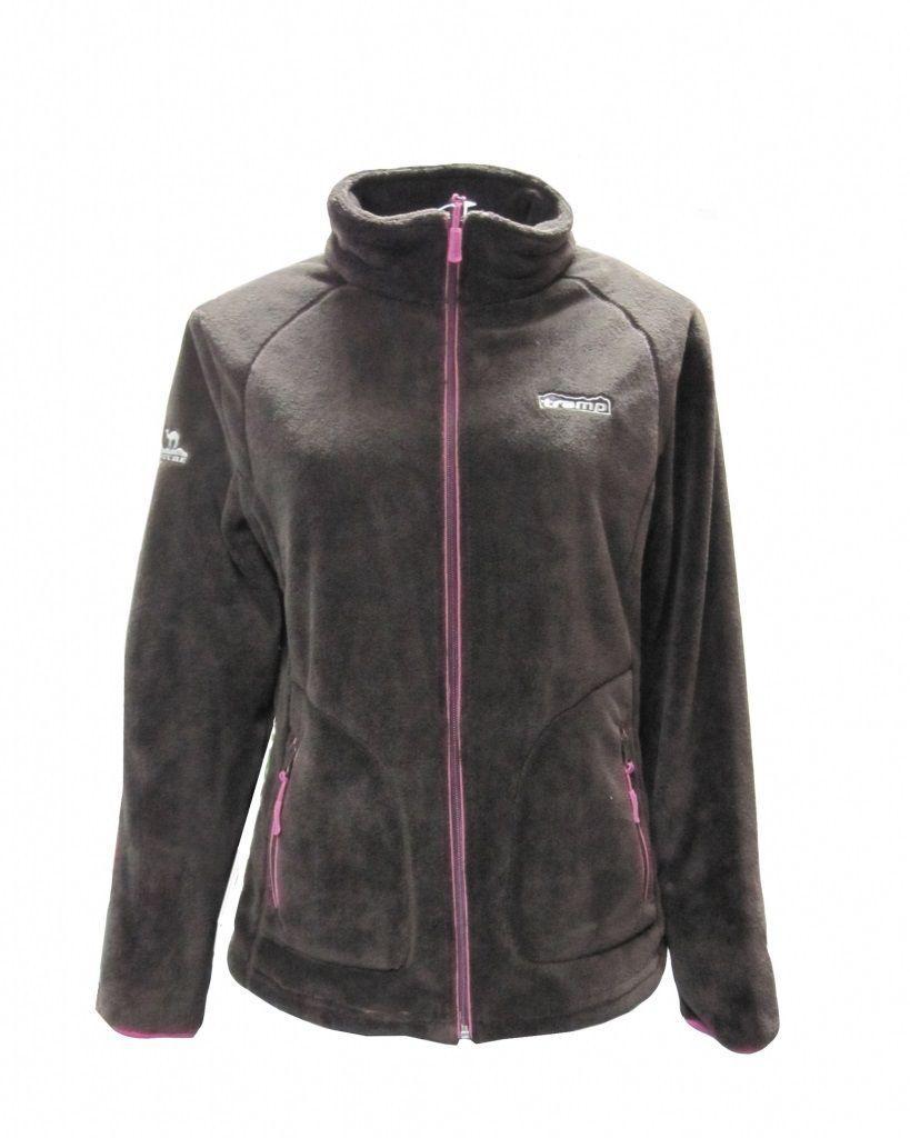 Женская куртка Tramp Мульта Шоколад/Розовый