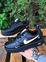 Кроссовки - В стиле Nike (Чёрные), фото 1
