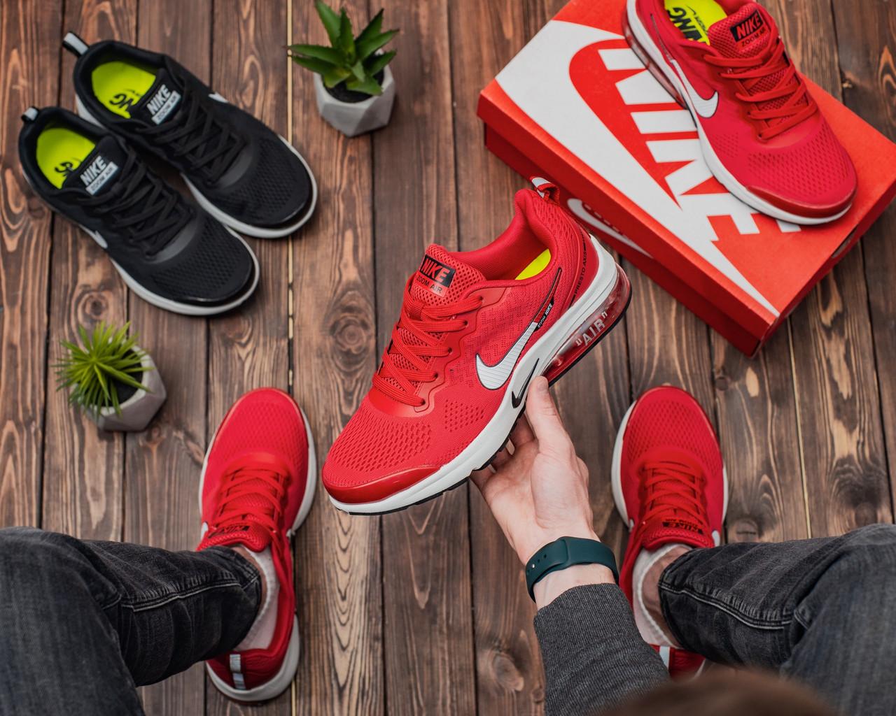 Чоловічі кросівки Nike Air Presto AXIS RED Репліка