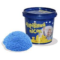 Песок Strateg голубого цвета, ведро 1 кг SKL11-237326