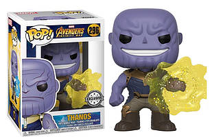Фигурка Funko Pop Фанко Поп Мстители Война бесконечности Танос Thanos Avengers Portal Walmart 10 см A T 296
