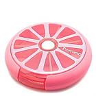 Таблетница Контейнер для таблеток Розовый Код 015793