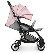 Коляска детская ME 1058 WISH Pink Gray Гарантия качества Быстрая доставка, фото 3