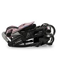 Коляска детская ME 1058 WISH Pink Gray Гарантия качества Быстрая доставка, фото 10