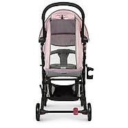 Коляска детская ME 1058 WISH Pink Gray Гарантия качества Быстрая доставка, фото 6