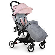 Коляска детская ME 1058 WISH Pink Gray Гарантия качества Быстрая доставка, фото 7