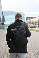 Рюкзак Roll Topl, рюкзак городской, рюкзак для ноутбука / Рюкзак чоловічий РолТоп