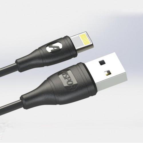 USB кабель Aspor AC-02 Lightning 2.1A/1м