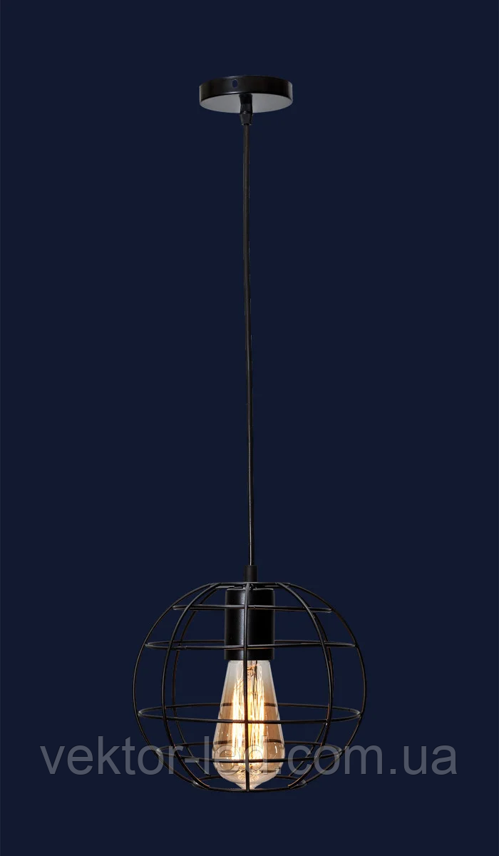 Светильник подвесной LOFT L56PR2175-1 BK