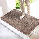 Быстро впитывающий при дверный коврик Clean Step Mat, фото 4