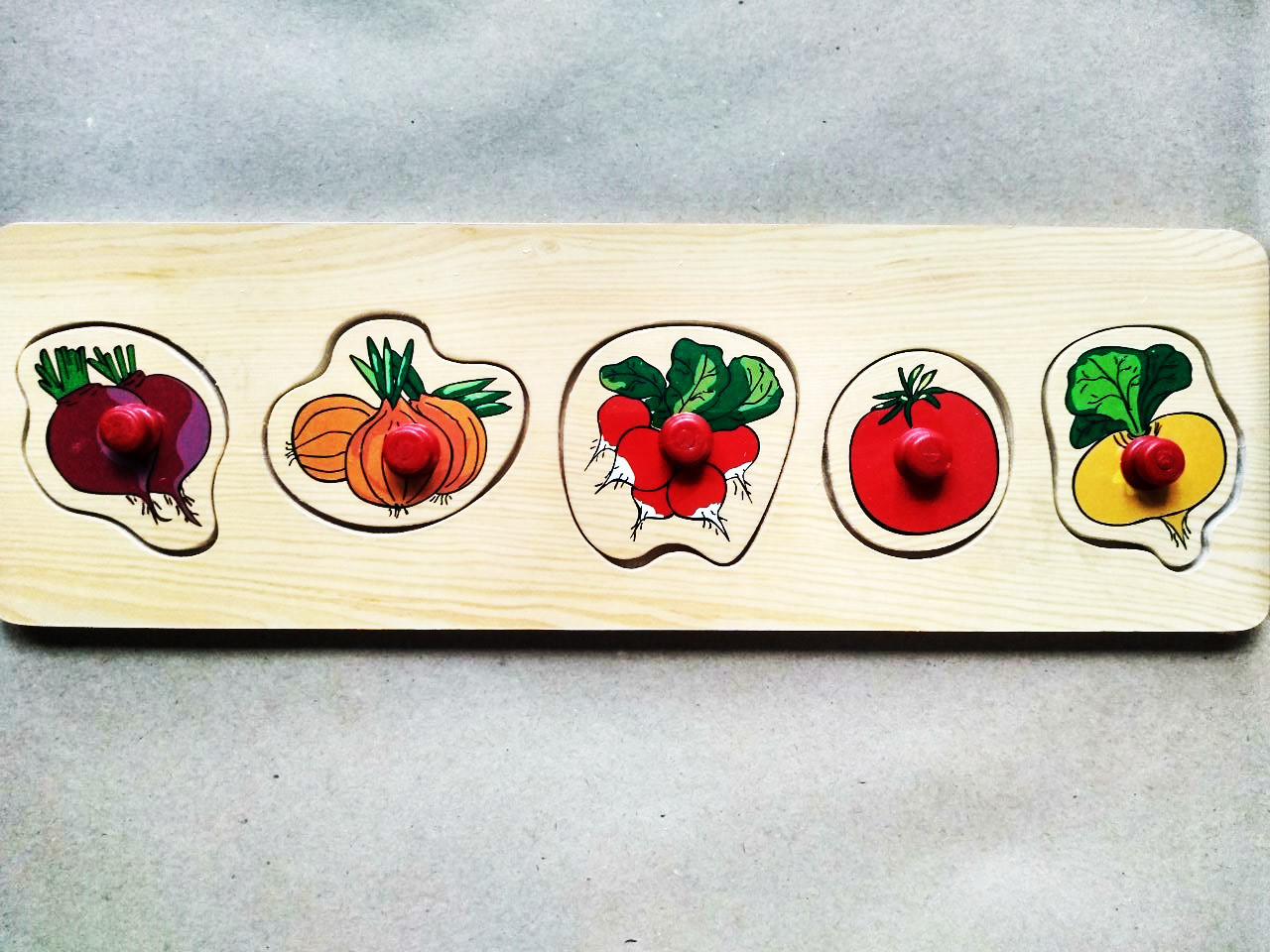 Овощи рамки-вкладыши маленькие.