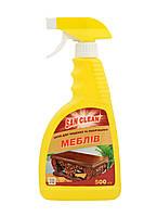 Furniture Wax Cleaner (Для чистки и полировки мебели) Курок500мл - Сан Клин