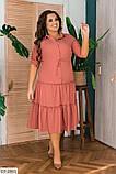 Стильное платье   (размеры 48-56) 0244-56, фото 2