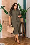 Стильное платье   (размеры 48-56) 0244-56, фото 3