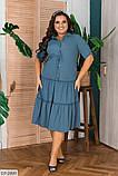 Стильное платье   (размеры 48-56) 0244-56, фото 4