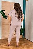 Женский летний костюм,размеры:50,52,54,56-58., фото 9