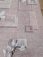 Обои бумажные  простые Эксклюзив 0,53-10,05  для кухни, коридор бежевые 060-03