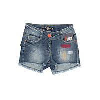 Детские шорты джинсовые для девочки, размер 7, 8, 10 лет.