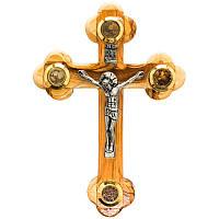 Крест Иерусалимский настенный ( с святынями )
