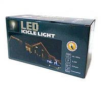 Гирлянда новогодняя сосульки LED 120 W-2 Белая