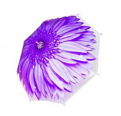 """Зонтик """"Цветок"""", d = 80 см (фиолетовый)  sco"""
