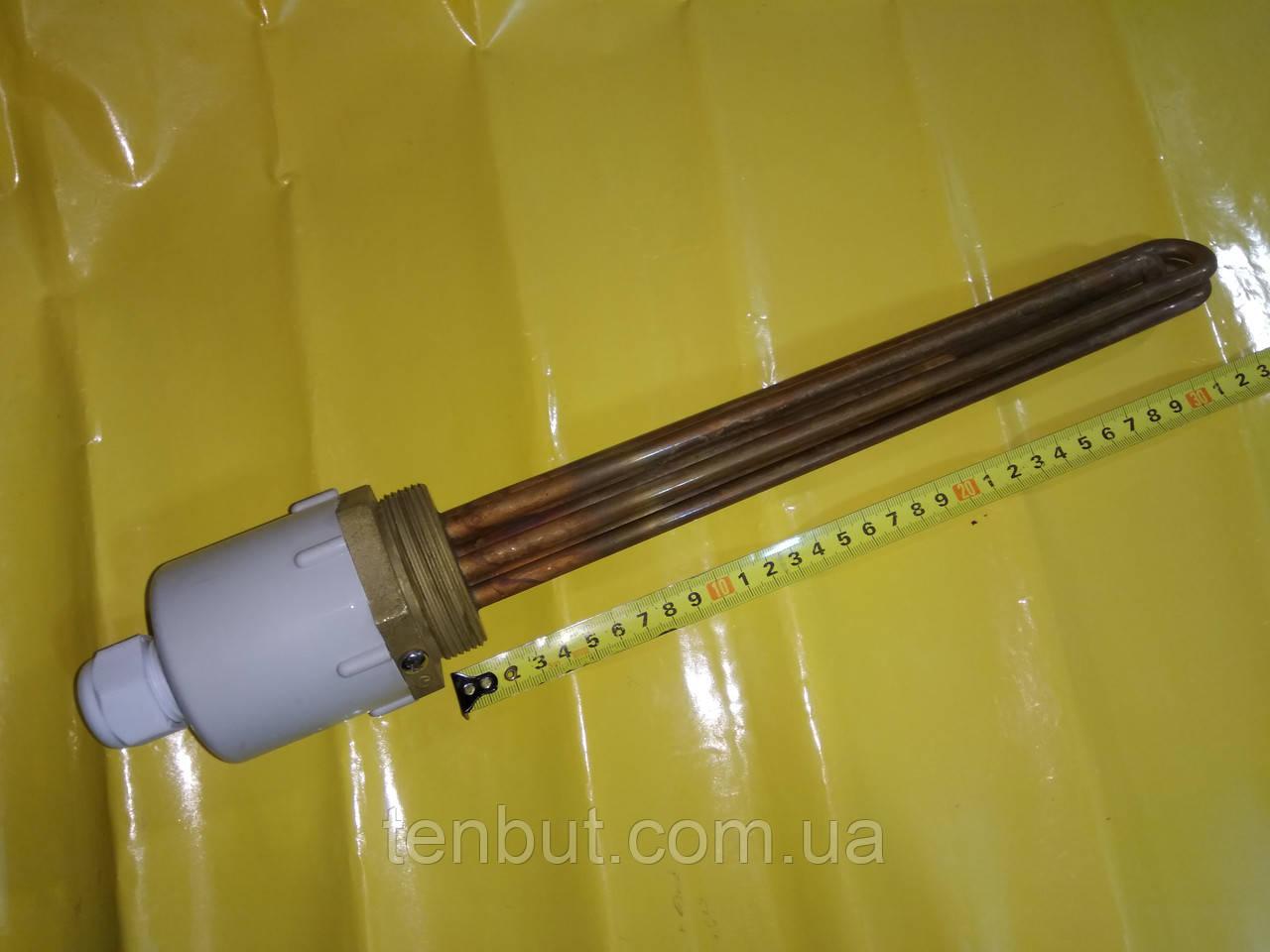 """Блок ТЭН медный 6.0 кВт./2.0"""" дюйма / 380 В./ L-330 мм. производитель KAWAI"""