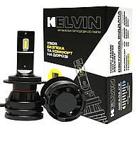 Светодиодные Led Лампы H7 KELVIN MSeries - 8000Lm - 6000K для головного света - Год гарантии